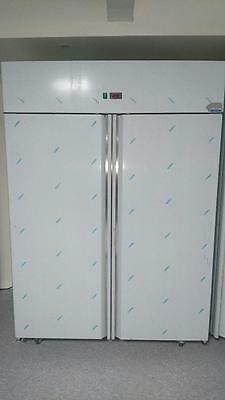 Commercial  Upright Freezer. 2 Door Freezer, Freezer, Full Stainless Steel