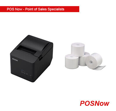 *NEW* Epson USB/Serial Thermal Receipt Printer with 24 Paper Rolls Combo