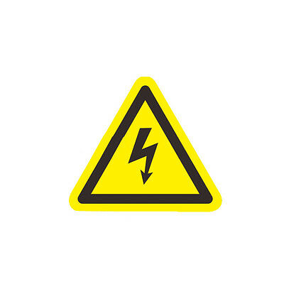 3pc Danger High Voltage Electric Warning Safety Label Sign Decal Sticker USA