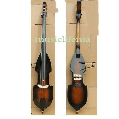 3/4 electric double bass outfit 2 version:folding body OR neck+body more colours