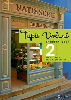 Tapis Volant 2 Student Book by Jane Zemiro Paperback Book Free Shipping!