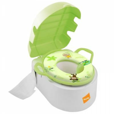 BABYWAY DELUXE 3in1 TOT POT POTTY PADDED TOILET STEP STOOL BABY TODDLER TRAINER