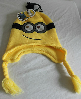Minions Reflective Eye Woolen Hat - Age 3-6 Years