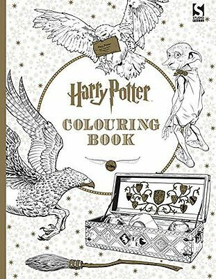 **NEW** - Harry Potter Colouring Book (Paperback) ISBN9781783705481)