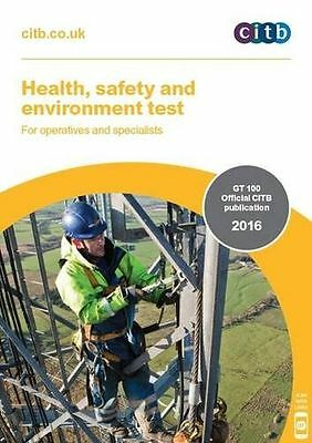 Health, Safety and Environment Test for Operatives and (PB) 9781857514322)