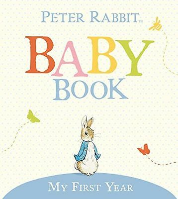 The Original Peter Rabbit Baby Book - My First Year (US (HB) 9780723256830)