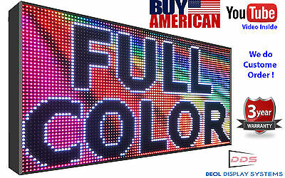 "FULL COLOR 38""X15"" 10mm pitch Wifi INDOOR PROGRAMMABLE DIGITAL LED SIGN BOARD"