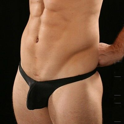Mini String Homme Simple Noir gay SEXY MENS T36-38