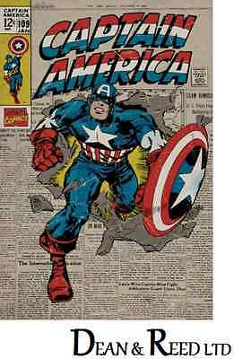 Marvel Captain America Comic Maxi Poster 61cm x 91.5cm new and sealed
