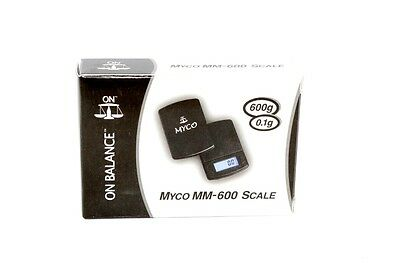 600gram x 0.1g Myco Electronic Digital Jewelry Gold Mini Pocket Weighing Scales