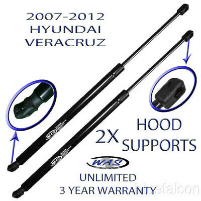 Two Front Hood Lift Supports Shock Strut Prop Rod For 07 08 09 10 11 12 Veracruz