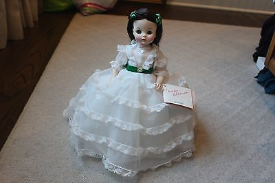 "14"" Scarlett Gone with the Wind Madame Alexander Doll"