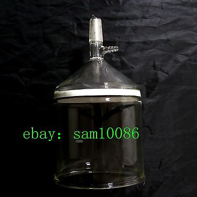 Glass Buchner Funnel,1L,3# Coarse Filter with 10mm Vacuum Adapter1000ml24/40,lab