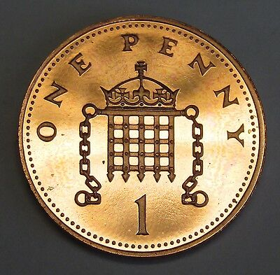 Great Britain 1 penny 1983 PROOF