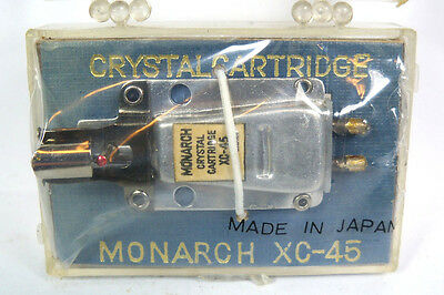 Vintage Phonograph Cartridges & Needles - 1950's Monarch XC-45 Crystal Cartridge