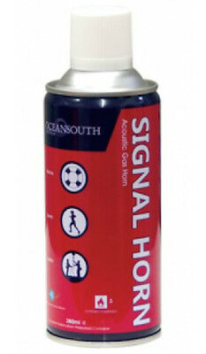 Gas Air Horn Replacement Can - 380ml - Emergency Signal Warning Boat Sport Event