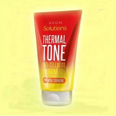 Avon SOLUTIONS Thermal Tone Gel Anti Cellulite Fettverbrennung mit L-Carnitin