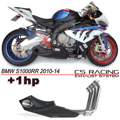 Bmw S1000rr 15 16 Exhaust Muffler No Headers Cs Racing Taylor Made Style 163 594 00 Picclick Uk