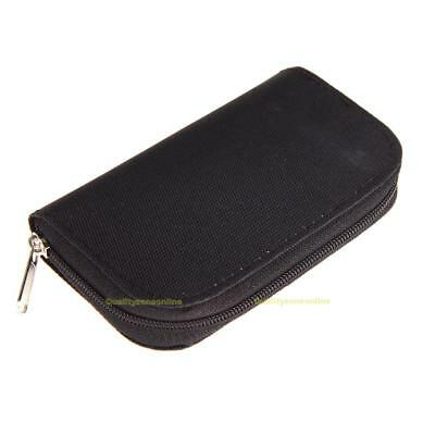 Memory Card Storage Carrying Pouch Case Holder Wallet For CF/SD/SDHC/MS/DS Games