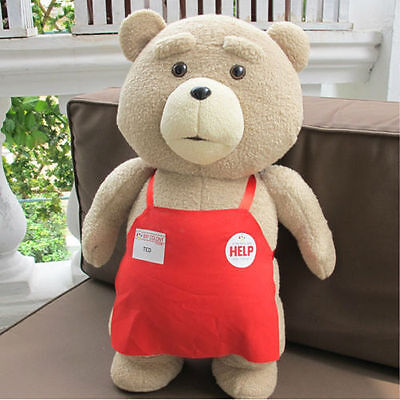"18""  Ted Movie TED the Bear PLUSH Doll Soft Toy Cute Teddy Pillow Figure gift"