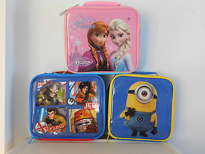 Back To School Frozen, Star Wars, Despicable Me 2 Kids Lunch Boxes Free Postage