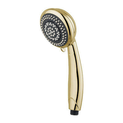 MX Synergy 6 spray shower head handset - gold effect (RDX / REA)