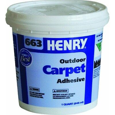 Premium Outdoor Carpet Adhesive by Henry, Ww Company