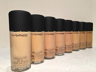 MAC Studio Fix Fluid SPF15 Foundation NC10/NW10/NC15/NW15/NC20&More Pick One