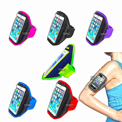Gym Running Jogging Arm Band Sports Armband Case Holder Strap Apple iPHONE SE