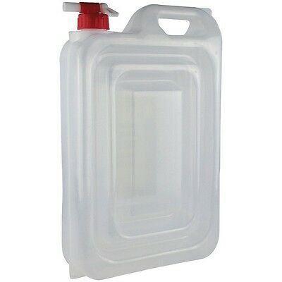 Yellowstone 15 Litre Expandable Water Carrier With Tap Outdoor Festival Camping