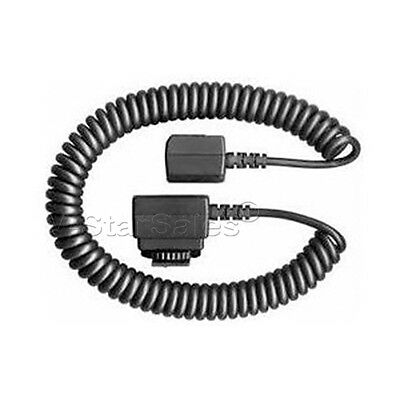 E-TTLII Off Camera Flash Shoe Cord For CANON EOS XT  XT1  XS  XSi 600D 350D 400D