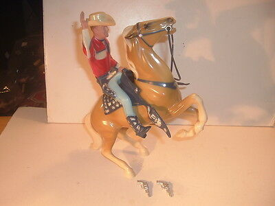 1950's Roy Rogers Rearing Trigger Hartland Statue Complete Set