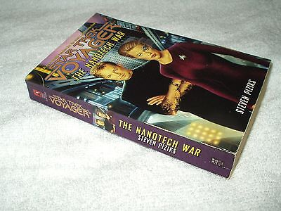 Star Trek Paperback Book Voyager The Nanotech War