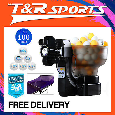 iPong Master V300 Table Tennis Robot+Catching Net+100 Yellow 1 Star Ball Formula