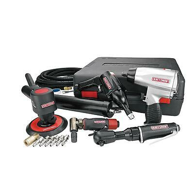 Craftsman 14 pc. Tool Set High Torque Impact Wrench Grinder Sander Ratchet Air