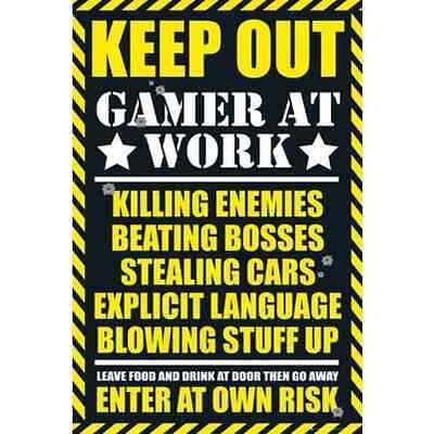 GB eye 61 x 91.5 cm Gaming Keep Out Maxi Poster