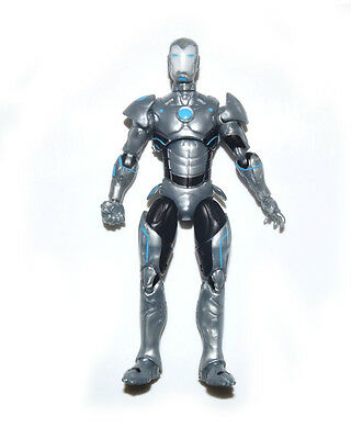 "Marvel Universe Infinite Series Silver Ironman 3.75"" Loose Action Figure"