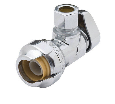 SharkBite Low Lead Angle Stop Valve by Reliance Worldwide Corp