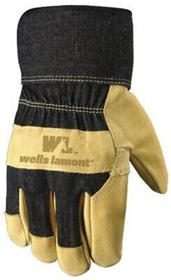 XL Mens Grain Pigskin Leather Work Gloves by Wells Lamont Corp