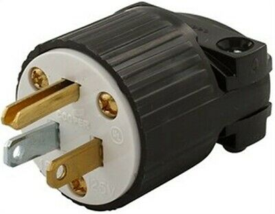 NEW COOPER WIRING Devices Industrial Grounding Plug 5366 - $4.43 ...