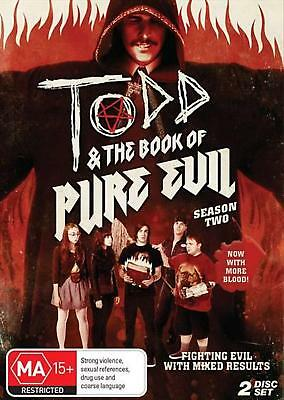 Todd And The Book Of Pure Evil : Season 2 - DVD Region 4 Free Shipping!