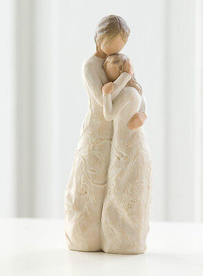 Willow Tree Figurine - Close To Me, 26222, Free P&P, Depicts Mother & Daughter