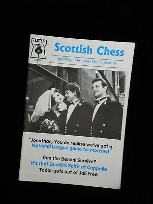 SCOTTISH CHESS Issue 143 April-May 1996