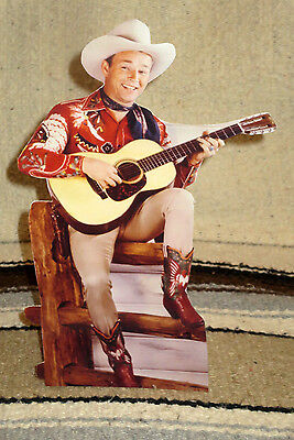 """Roy Rogers & Trigger """"King of the Cowboys"""" Figure Tabletop Display Standee 10.5"""