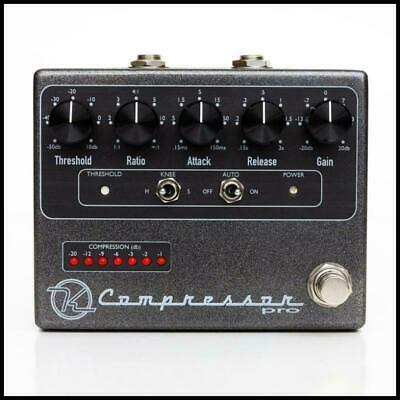 Keeley Compressor Pro Professional Studio Guitar Effects Pedal KEELEY-COMP-PRO