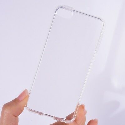 Trendy Transparent Clear Case Skin for Apple iPod Touch 6 Soft Crystal Silicone