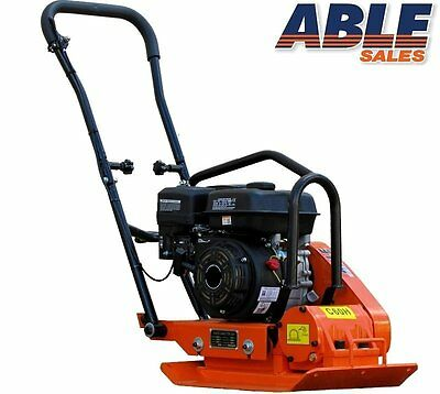 PLATE COMPACTOR 6.5 HP 68KG 12kN WITH WHEELS (FREIGHT FREE)
