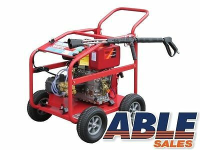 Diesel Pressure Washer 11.0Hp 3600Psi With Reduction Gearbox