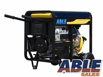 5 kVA MAX 6 kVA GENERATOR DIESEL RATED 240V Single Phase (FREIGHT FREE)