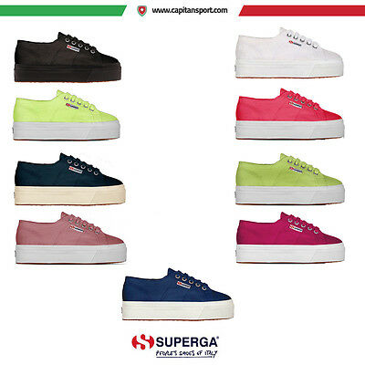 Superga - 2790A COTU PLATFORM UP AND DOWN - SCARPE CASUAL - art.  S0001L0